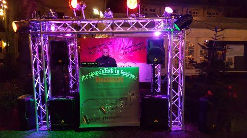 K&K Music auf dem Weihnachtsmarkt